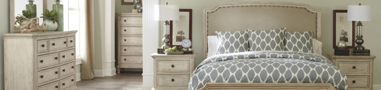 Demarlos 4 Piece King Bedroom Suite - Now $2,699